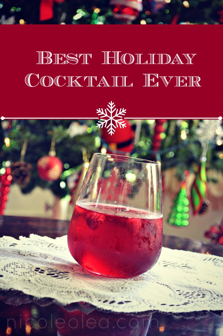 holiday cocktail, holiday drink, recipe,