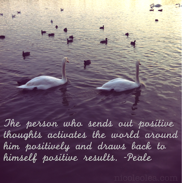 positive quote swans #quotes #Peale