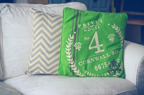 cottage decor, target, privet drive pillows