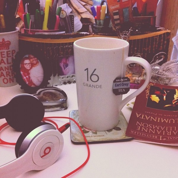 Starbucks London Fog Latte, Earl Grey Latte, Dr. Dre Beats