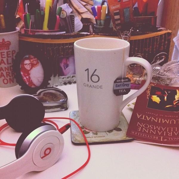 Starbucks London Fog Latte, Earl Grey Latte, Dr. Dre Beats