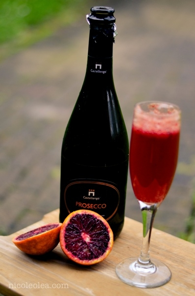 Blood Orange Mimosa_