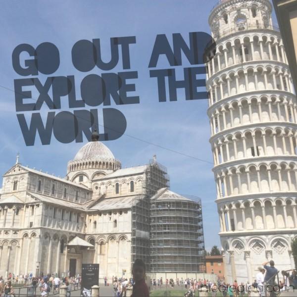 Explore the world, pisa, Italy