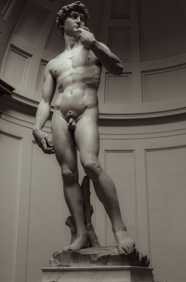 Michelangelo's David, Florence Italy