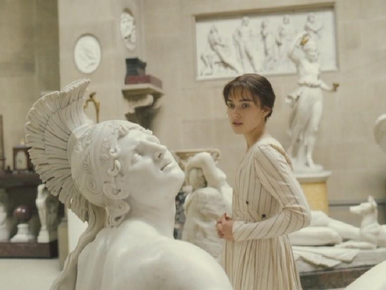 Elizabeth Bennett, Kiera Knightly, Pride & Predjudice, sculputres, Darcy's home tour,