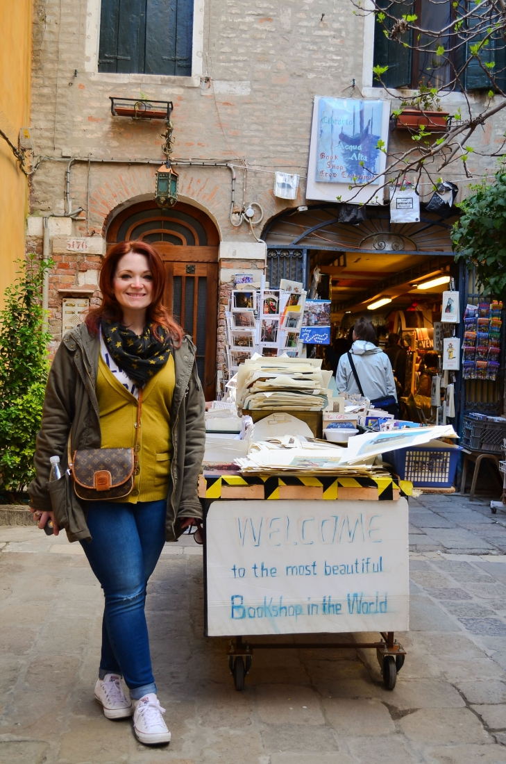 Libreria Acqua Alta Venice Book Shop