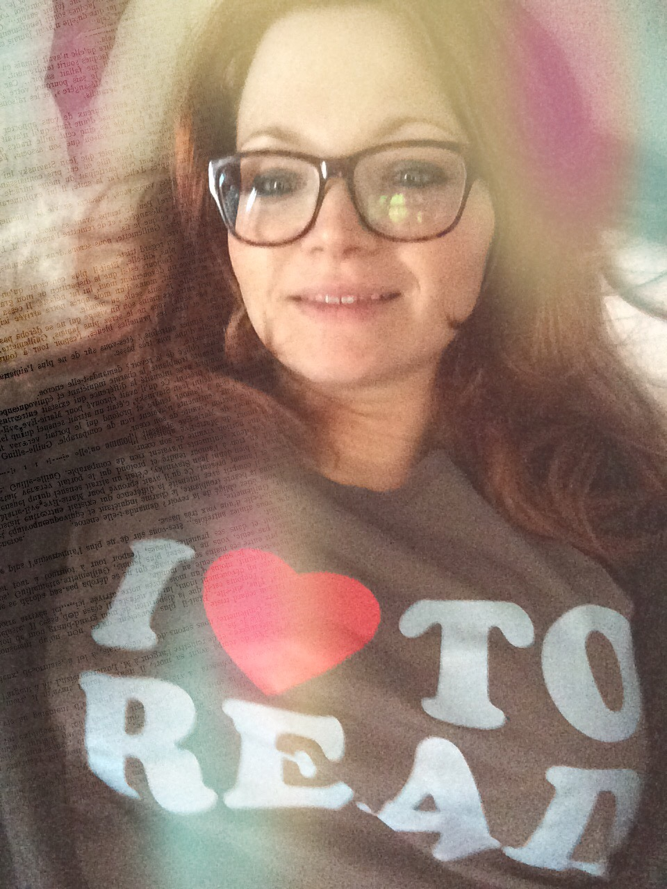 nicole olea i love to read tshirt