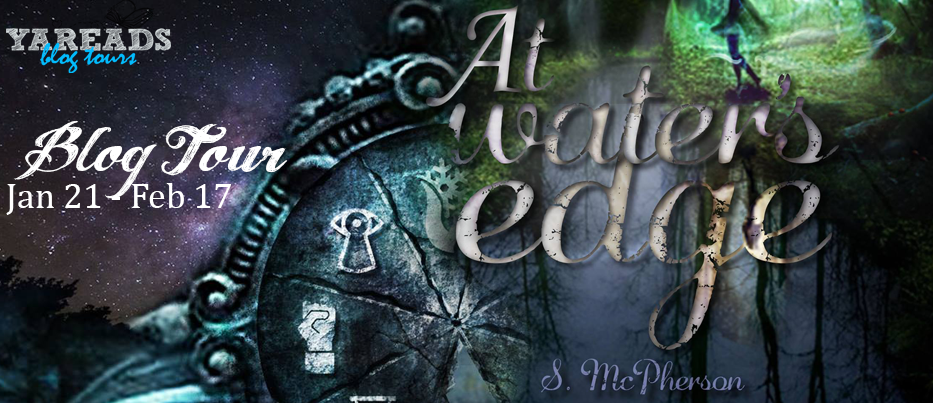 at waters edge blog tour banner