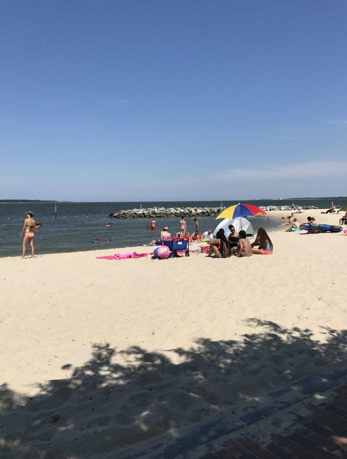 beach york river