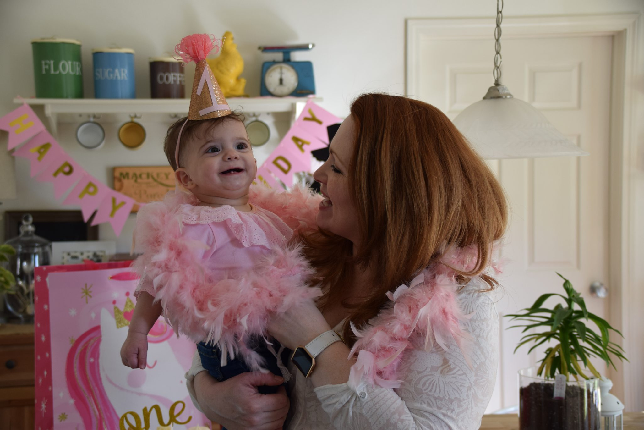 Ellena's Simple First Birthday Celebration