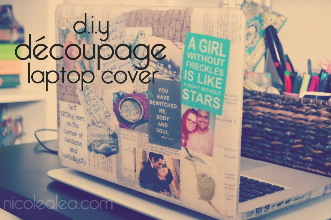 Lap Top Cover, DIY, Macbook Laptop cover, DIY, Craft, photo colloage