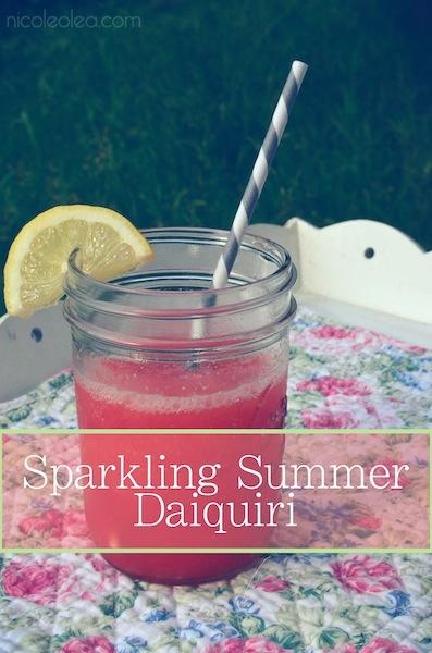 Sparkling Summer Daiquiri