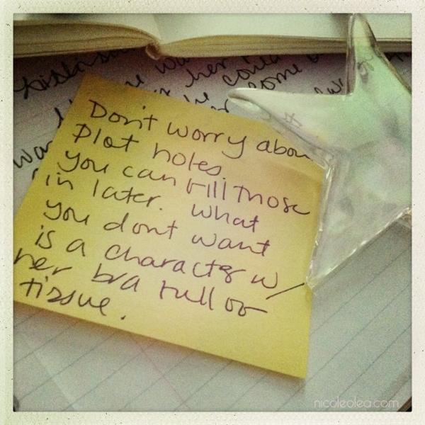 plot holes plotting a novel