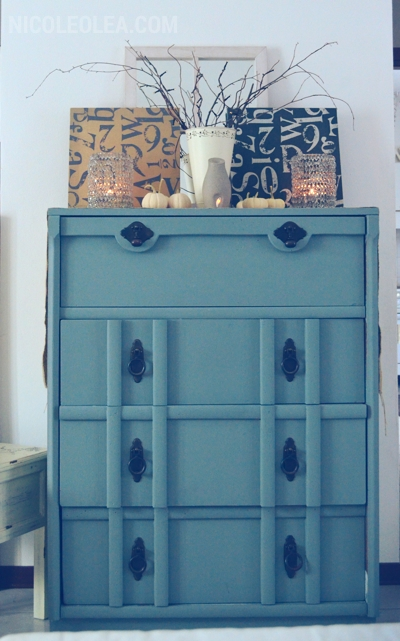 painted dresser, dresser diy, dresser upcycle, shabby chic halloween decor