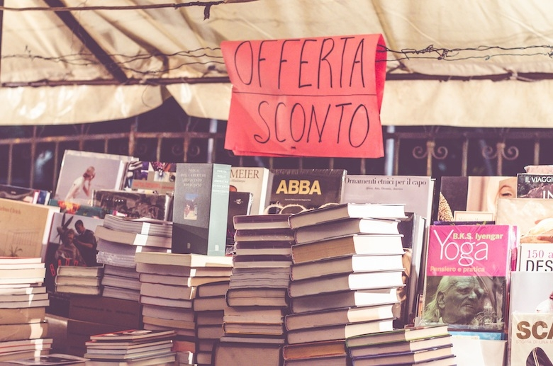 books for sale in italy