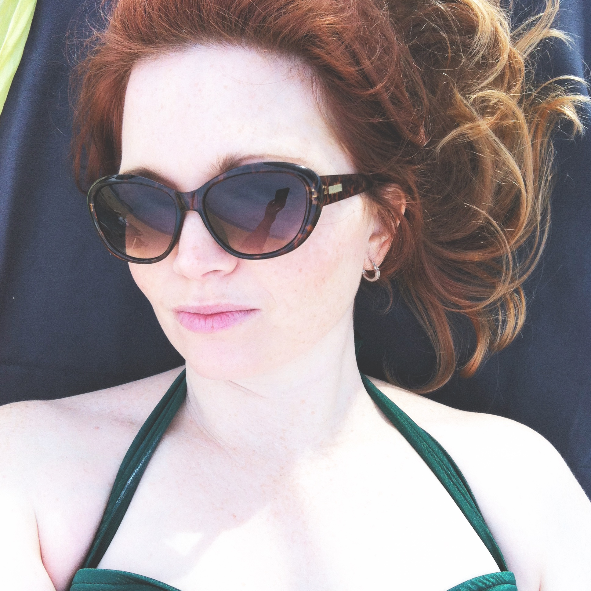 Nicole Olea - wear sunscreen :)